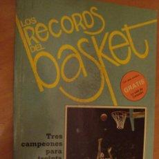 Coleccionismo deportivo: LIBRO LOS RECORDS DEL BASKET 1986. Lote 34233310