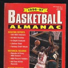 Collectionnisme sportif: BASKETBALL ALMANAC 1996-1997 – NBA BASKET 608 PGS. 21X13 CMS. TEXTOS EN INGLÉS.. Lote 34439659