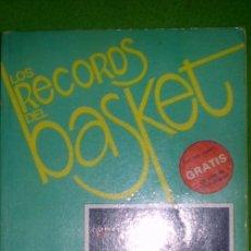 Coleccionismo deportivo: LOS RECORDS DEL BASKET Nº7-ESTRELLAS DE LA N.B.A.-;SIGLO CULTURAL 1986. Lote 35222354