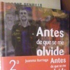 Coleccionismo deportivo: ANTES DE QUE SE ME OLVIDE (MADRID, 2010).. Lote 36694993