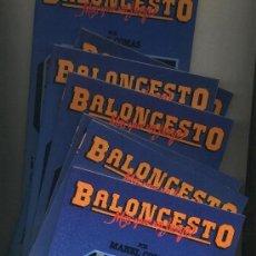 Coleccionismo deportivo: BALONCESTO MÁS QUE UN JUEGO MANEL COMAS LIBROS 01 - 04 - 06 - 07 - 08 - 09 - 10. Lote 38096572