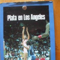 Coleccionismo deportivo: PLATA EN LOS ANGELES, BANCO EXTERIOR ESPAÑA. Lote 38204117