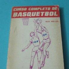Coleccionismo deportivo: CURSO COMPLETO DE BASQUETBOL MODERNO CON REGLAMENTO INTERNACIONAL. ALEX MÜLLER. Lote 39116800