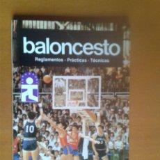 Coleccionismo deportivo: BALONCESTO MANUALES DE CULTURA DEPORTIVA REGLAMENTOS PRÁCTICAS TÉCNICAS BÁSQUET CANASTA. Lote 40166171