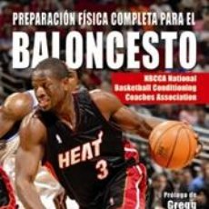 Coleccionismo deportivo: PREPARACIÓN FÍSICA COMPLETA PARA EL BALONCESTO - NBCCA. LIBRO + DVD. Lote 41237107