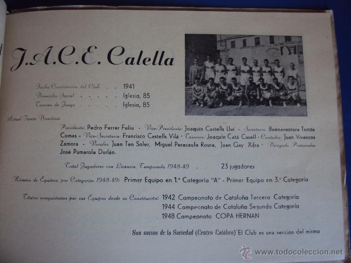 Coleccionismo deportivo: (F-900)XXVº ANIVERSARIO DE LA FEDERACION CATALANA DE BALONCESTO - Foto 8 - 42023197