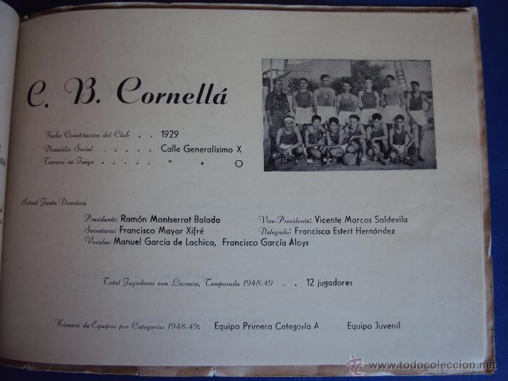 Coleccionismo deportivo: (F-900)XXVº ANIVERSARIO DE LA FEDERACION CATALANA DE BALONCESTO - Foto 14 - 42023197