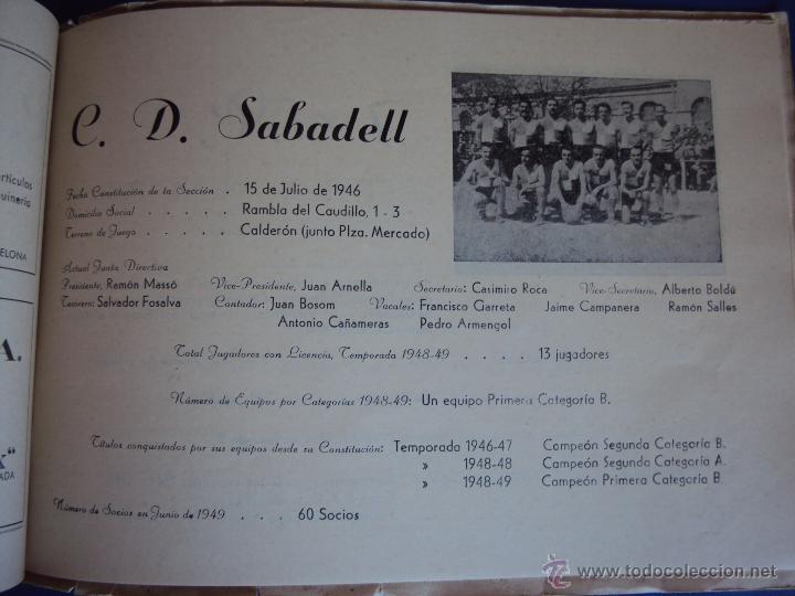 Coleccionismo deportivo: (F-900)XXVº ANIVERSARIO DE LA FEDERACION CATALANA DE BALONCESTO - Foto 17 - 42023197