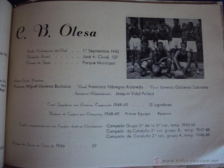 Coleccionismo deportivo: (F-900)XXVº ANIVERSARIO DE LA FEDERACION CATALANA DE BALONCESTO - Foto 18 - 42023197
