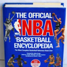 Coleccionismo deportivo: THE OFFICIAL NBA BASKETBALL ENCYCLOPEDIA ENCICLOPEDIA BALONCESTO OFICIAL DE NBA AÑO 1989 766 PAGINAS. Lote 42239312