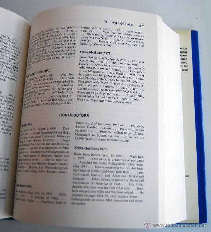 Coleccionismo deportivo: THE OFFICIAL NBA BASKETBALL ENCYCLOPEDIA ENCICLOPEDIA BALONCESTO OFICIAL DE NBA AÑO 1989 766 PAGINAS - Foto 2 - 42239312