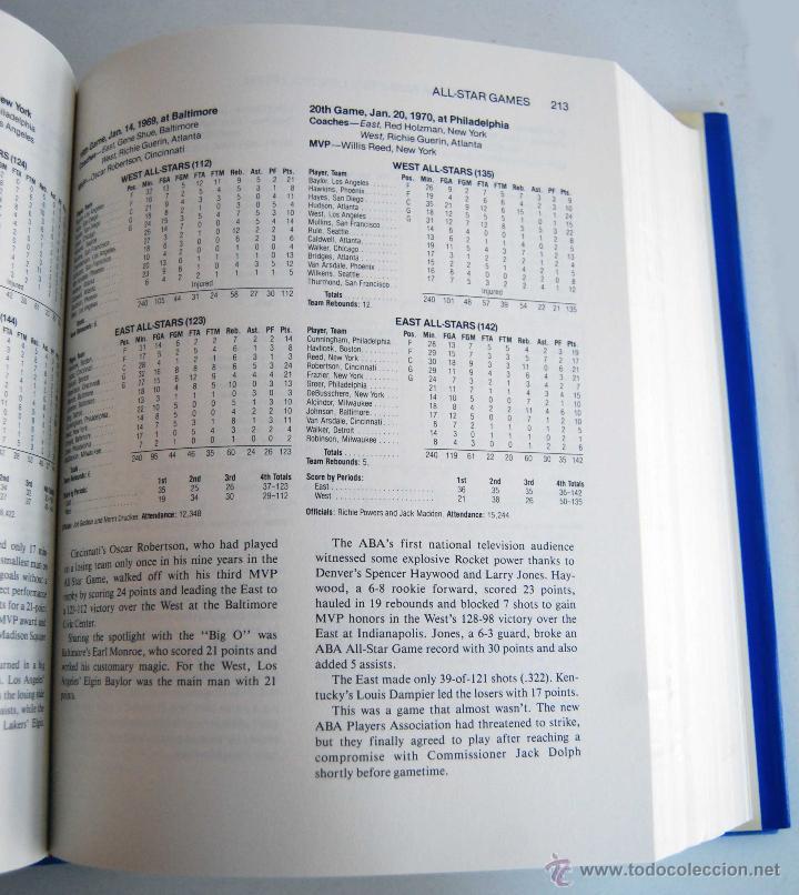 Coleccionismo deportivo: THE OFFICIAL NBA BASKETBALL ENCYCLOPEDIA ENCICLOPEDIA BALONCESTO OFICIAL DE NBA AÑO 1989 766 PAGINAS - Foto 6 - 42239312
