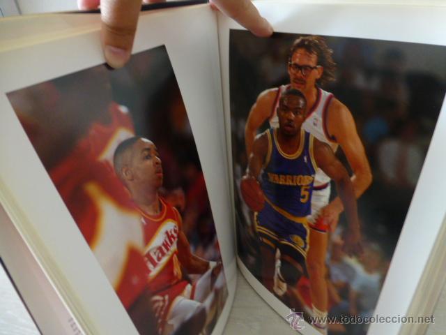 Coleccionismo deportivo: ALREDEDOR DEL PARQUE. (BALONCESTO NBA). PRECIOSO LIBRO DE FOTOGRAFIAS DEL GRUPO DORNA. 1991. - Foto 4 - 44930673