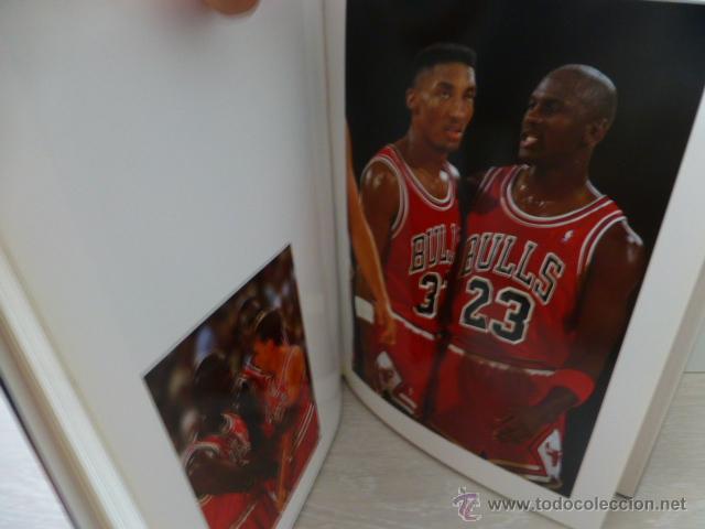 Coleccionismo deportivo: ALREDEDOR DEL PARQUE. (BALONCESTO NBA). PRECIOSO LIBRO DE FOTOGRAFIAS DEL GRUPO DORNA. 1991. - Foto 5 - 44930673