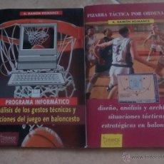 Coleccionismo deportivo: EDITORIAL GYMNOS. RAMÓN ROMANCE. BALONCESTO 2 PROGRAMAS. Lote 45139879