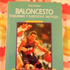 Coleccionismo deportivo: BALONCESTO, ESQUEMAS Y EJERCICIOS TACTICOS, POR DIETER NIEDLICH - HISPANO EUROPEA - ESPAÑA - 2000. Lote 46104882