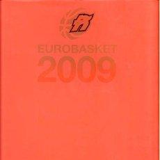 Coleccionismo deportivo: EUROBASKET 2009. Lote 47658466