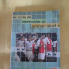 Coleccionismo deportivo: CURSO ENTRENADOR PRIMER NIVEL - BALONCESTO. Lote 48305952