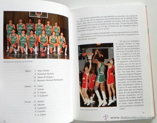 Coleccionismo deportivo: DIEZ AÑOS DEL CAJA SAN FERNANDO EN LA ACB - LIBRO BALONCESTO DEPORTE CLUB DE SEVILLA FOTOS HISTORIA - Foto 4 - 48799984
