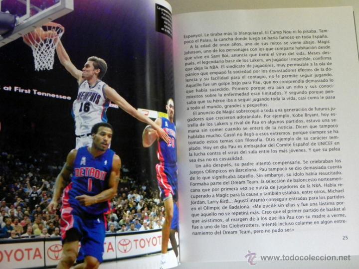 Coleccionismo deportivo: GASOL POR PAU EL PARTIDO DE MI VIDA LIBRO JUGADOR BALONCESTO ESPAÑOL BIOGRAFÍA BÁSQUET DEPORTE ÍDOLO - Foto 5 - 50141737