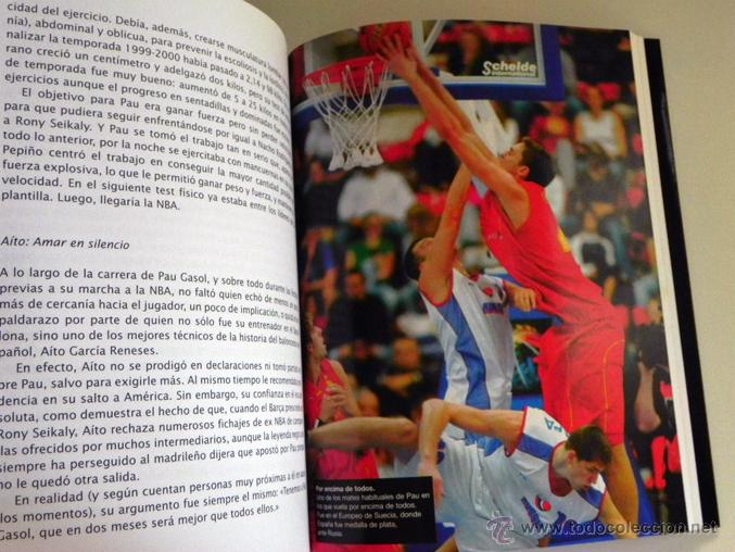 Coleccionismo deportivo: GASOL POR PAU EL PARTIDO DE MI VIDA LIBRO JUGADOR BALONCESTO ESPAÑOL BIOGRAFÍA BÁSQUET DEPORTE ÍDOLO - Foto 6 - 50141737
