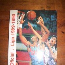 Coleccionismo deportivo: ASOCIACIÓN DE CLUBS DE BALONCESTO. GUÍA OFICIAL : LIGA 1989-1990. Lote 50541874