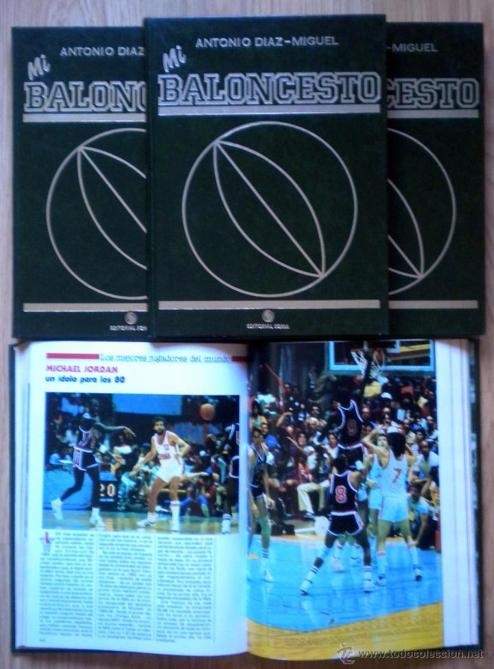 COLECCION MI BALONCESTO ANTONIO DIAZ-MIGUEL 4 TOMOS COMPLETA FERNANDO MARTIN SABONIS PETROVIC (Coleccionismo Deportivo - Libros de Baloncesto)