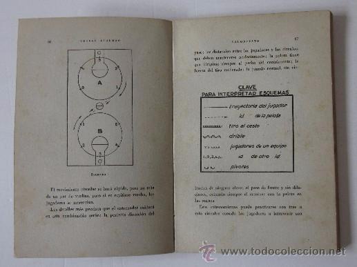 Coleccionismo deportivo: BALONCESTO - ENTRENAMIENTO, TECNICA, FORMACION DE CONJUNTOS - AÑO 1943 - Foto 4 - 51008651