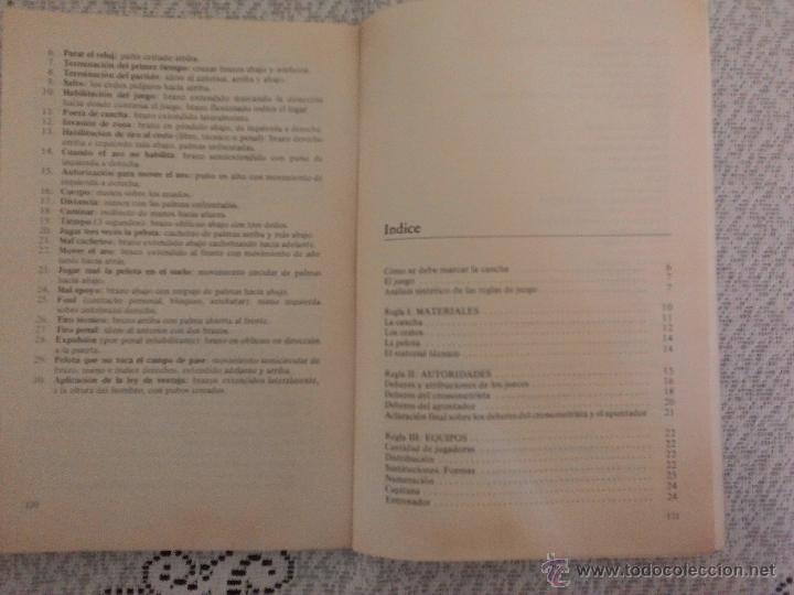 Coleccionismo deportivo: PELOTA AL CESTO, por Sara Closas Edit. Stadium - Argentina - Explicación de Leyes de Juego - Foto 2 - 54085657