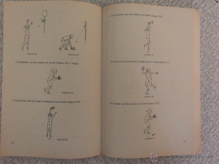 Coleccionismo deportivo: PELOTA AL CESTO, por Sara Closas Edit. Stadium - Argentina - Explicación de Leyes de Juego - Foto 4 - 54085657