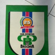 Coleccionismo deportivo: CLUB DEPORTIVO BASCONIA BASKONIA...SU HISTORIA (BALONCESTO) 25 ANIVERSARIO 1959/60 - 1984/85. Lote 54275960