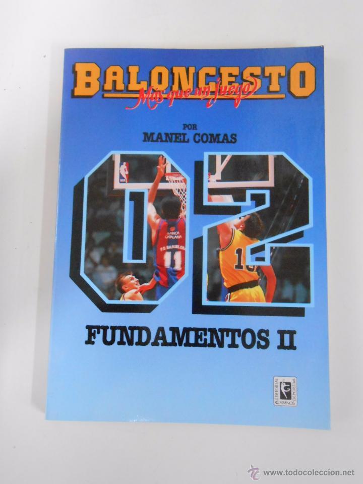 BALONCESTO. MAS QUE UN JUEGO. MANEL COMAS. Nº 2. FUNDAMENTOS II. TDK265 (Coleccionismo Deportivo - Libros de Baloncesto)