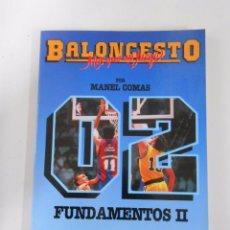 Coleccionismo deportivo - BALONCESTO. MAS QUE UN JUEGO. MANEL COMAS. Nº 2. FUNDAMENTOS II. TDK265 - 54533177