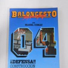 Coleccionismo deportivo - BALONCESTO. MAS QUE UN JUEGO. MANEL COMAS. Nº 4. CONSTRUCCION DE UNA DEFENSA. TDK265 - 81591358