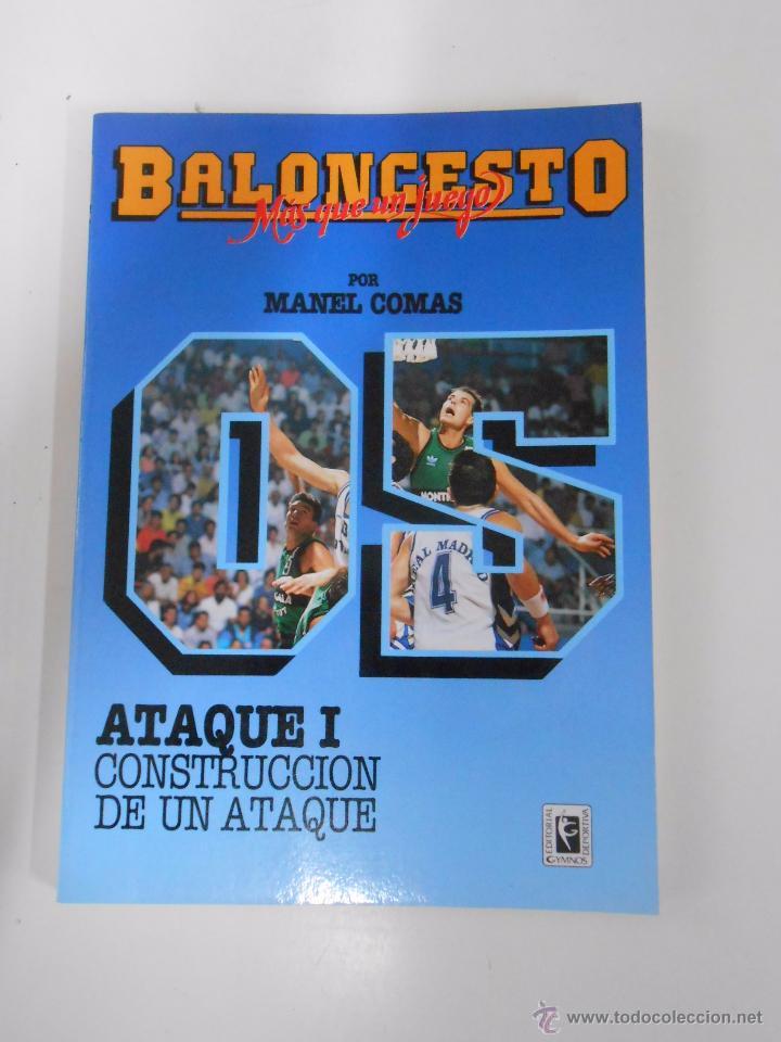 BALONCESTO. MAS QUE UN JUEGO. MANEL COMAS. Nº 5. ATAQUE I. CONSTRUCCION DE UN ATAQUE. TDK265 (Coleccionismo Deportivo - Libros de Baloncesto)