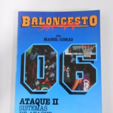 Coleccionismo deportivo - BALONCESTO. MAS QUE UN JUEGO. MANEL COMAS. Nº 5. ATAQUE II. SISTEMAS DE ATAQUE. TDK265 - 54533397