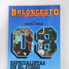 Coleccionismo deportivo - BALONCESTO. MAS QUE UN JUEGO. MANEL COMAS. Nº 8. ESPECIALISTAS EN EL JUEGO. CONSTRUCCION. TDK265 - 54533437