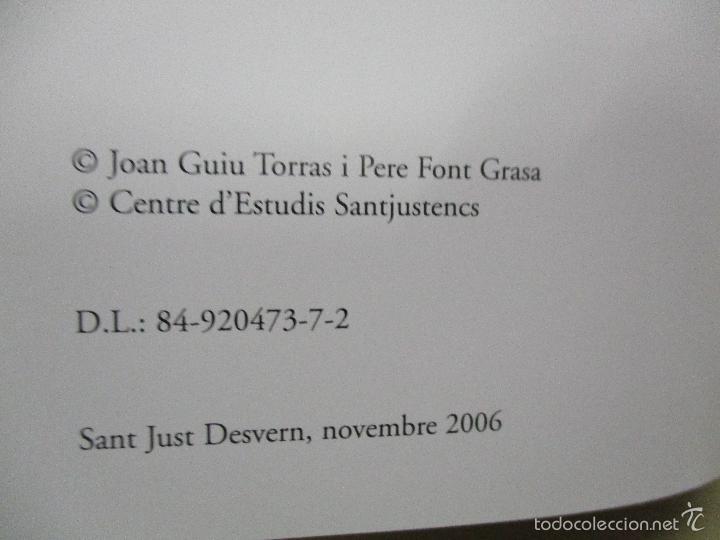 Coleccionismo deportivo: Club Basquet Sant Just 50é Aniversari - 1956 - 2006 - Foto 4 - 55357106
