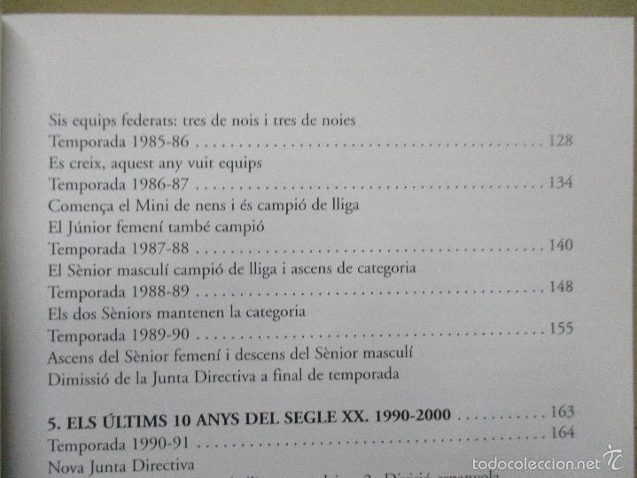 Coleccionismo deportivo: Club Basquet Sant Just 50é Aniversari - 1956 - 2006 - Foto 12 - 55357106