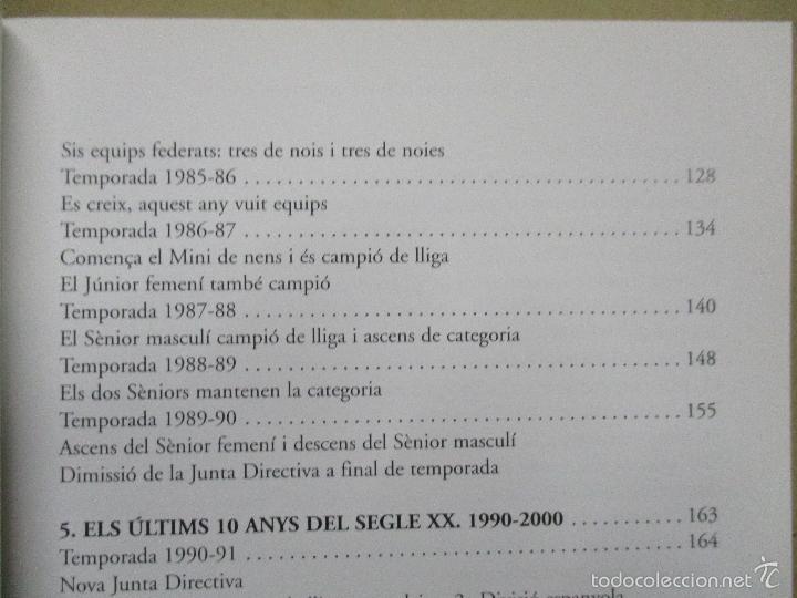 Coleccionismo deportivo: Club Basquet Sant Just 50é Aniversari - 1956 - 2006 - Foto 13 - 55357106
