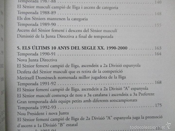 Coleccionismo deportivo: Club Basquet Sant Just 50é Aniversari - 1956 - 2006 - Foto 14 - 55357106