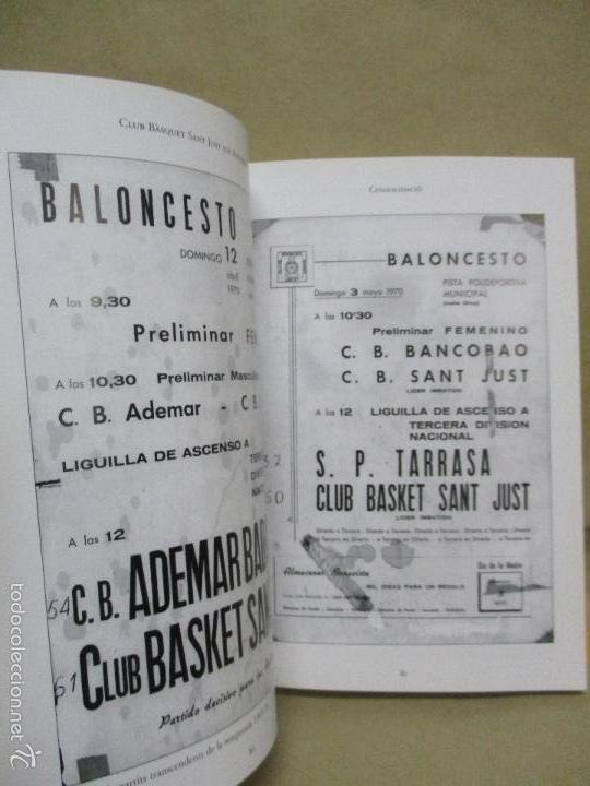 Coleccionismo deportivo: Club Basquet Sant Just 50é Aniversari - 1956 - 2006 - Foto 22 - 55357106
