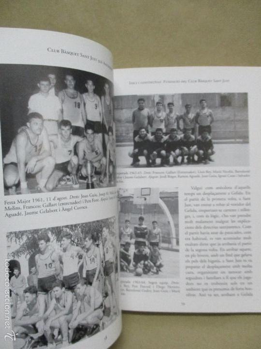 Coleccionismo deportivo: Club Basquet Sant Just 50é Aniversari - 1956 - 2006 - Foto 24 - 55357106