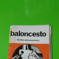 Coleccionismo deportivo: BALONCESTO TÉCNICA ENTRENAMIENTO PUBLICADO POR THE ATHLETIC INSTITUTE AÑO 1981 JOYA COLECCIONISTAS. Lote 56746287