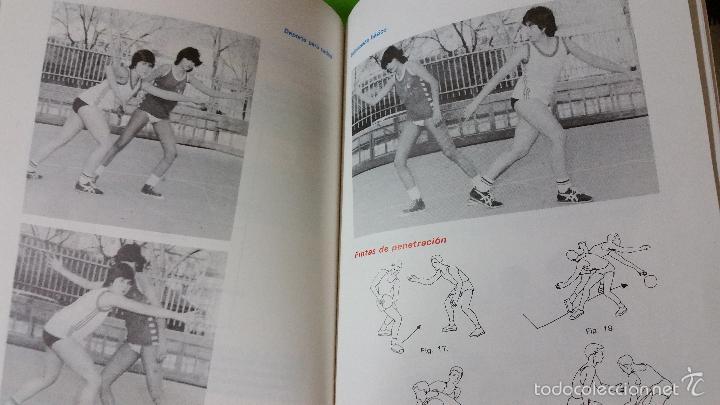 Coleccionismo deportivo: Baloncesto Básico por Santos Vázquez Rabaz edita Alhambra año 1988 auténtica rareza - Foto 4 - 56746402
