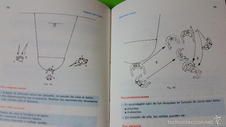 Coleccionismo deportivo: Baloncesto Básico por Santos Vázquez Rabaz edita Alhambra año 1988 auténtica rareza - Foto 5 - 56746402