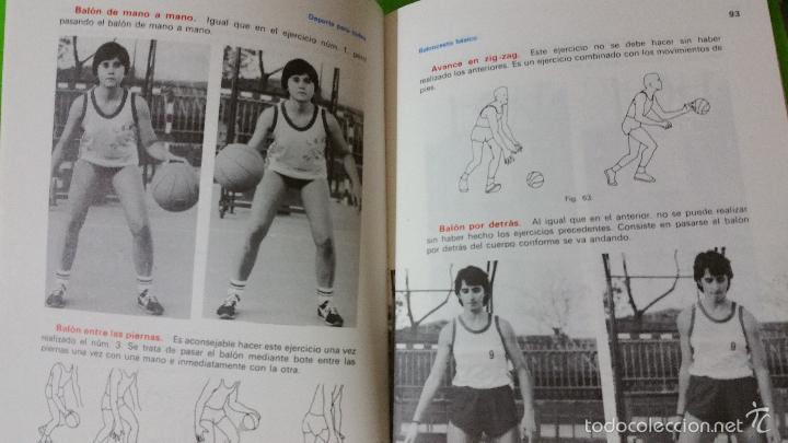 Coleccionismo deportivo: Baloncesto Básico por Santos Vázquez Rabaz edita Alhambra año 1988 auténtica rareza - Foto 6 - 56746402