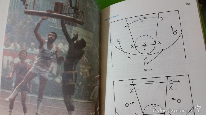 Coleccionismo deportivo: Baloncesto Básico por Santos Vázquez Rabaz edita Alhambra año 1988 auténtica rareza - Foto 7 - 56746402