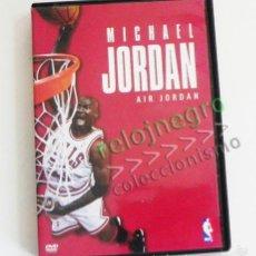 Coleccionismo deportivo: DVD MICHAEL JORDAN AIR DOCUMENTAL - JUGADOR DE BALONCESTO EEUU NBA BÁSQUET DEPORTE ÍDOLO - NO LIBRO. Lote 57398848