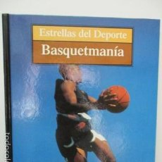 Coleccionismo deportivo: BASQUETMANÍA. ESTRELLAS DEL DEPORTE. BALONCESTO (GRUPO CORREO). TAPA DURA, 80 PGS A COLOR. . Lote 58209952